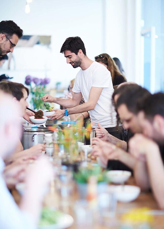 ROLI HQ Lunch | Chaos and Rocket Fuel